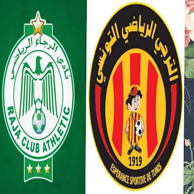 Grand match entre ES Tunis - Raja Casablanca  le vendredi prochain