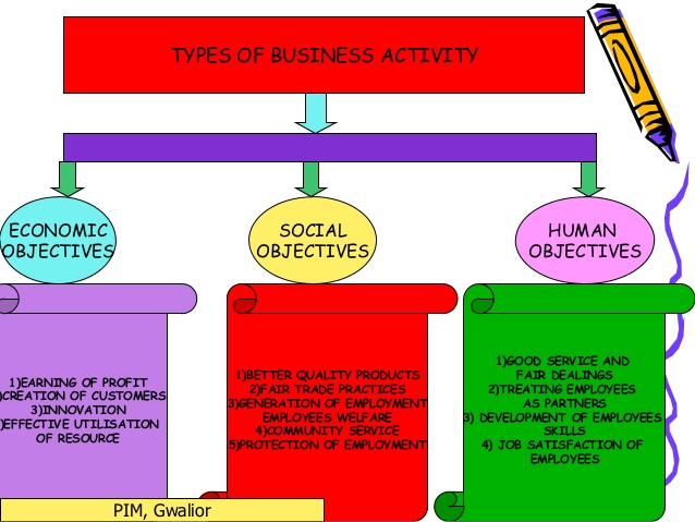 an analysis of the basic objectives of economic activity Economic activities are related to production, distribution, exchange and consumption of goods and services the primary aim of the economic activity is the production of goods and services with a view to make them available to consumer.