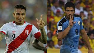 Perú vs Uruguay en Eliminatorias hacia el Mundial Rusia 2018