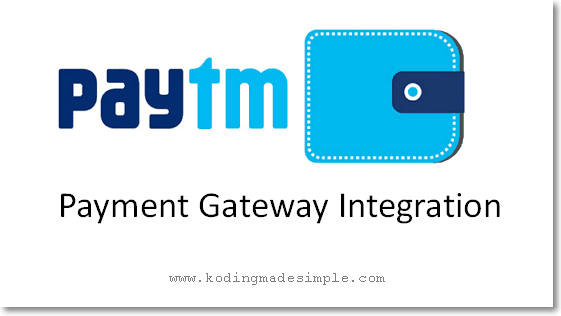 paytm payment gateway integration php