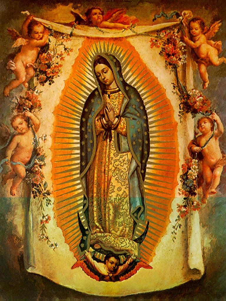 Angeles de La Virgen de Guadalupe