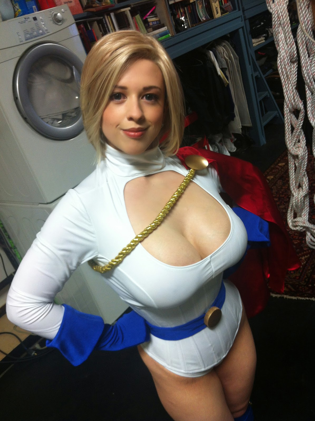 Powergirl larkin love