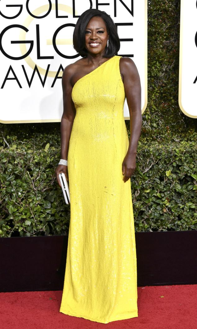 Viola Davis  Golden Globes 2017