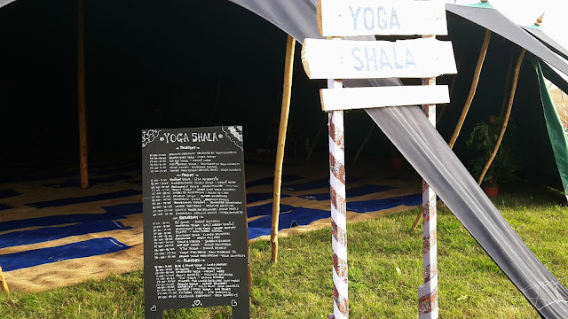 Camp Bestival 2016 Yoga // 76sunflowers