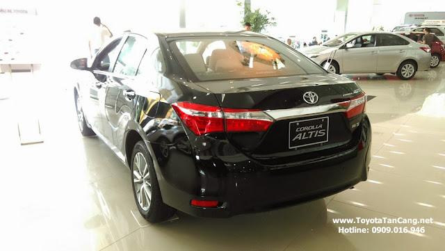 Đánh giá Toyota Corolla Altis 1.8G MT 2015