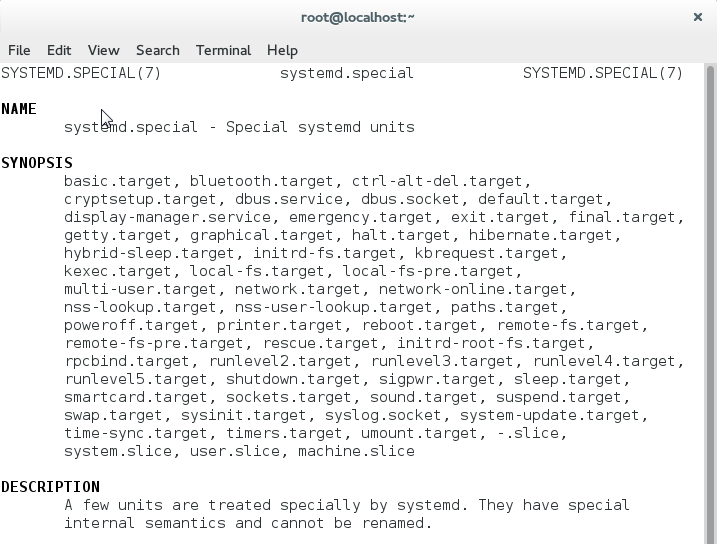 Template Unit Files Systemd Has A Set Of Special Target Designed For Purposes You Can Find List Targets In Man Page