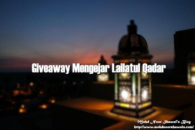 Pemenang Giveaway Mengejar Lailatul Qadar