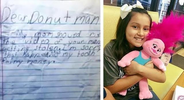Gadis Cilik Ini Memberikan Uang Pada Toko Donat yang Baru Kemalingan, Lalu Kejadian Selanjutnya Benar-benar Diluar Dugaan!