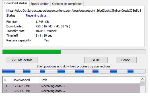 Kecepatan konesi Indosat 4G