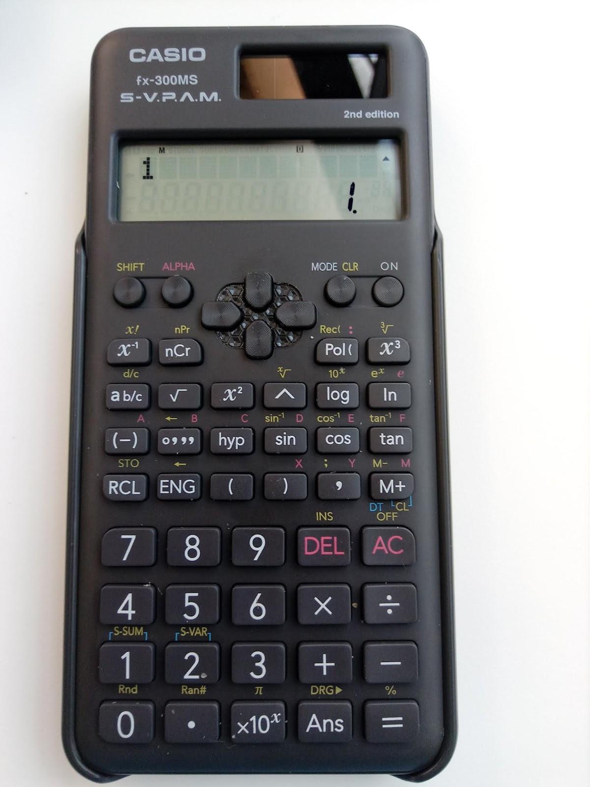 casio fx 300ms user manual