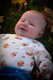 Cramer Imaging's portrait photograph of an infant or baby girl under the age of three months in Rigby, Idaho