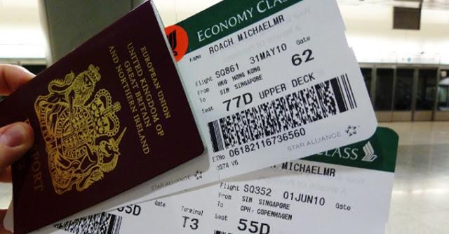 Jangan Buang Boarding Pass tiket kapl terbang,