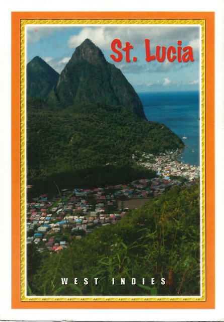 View Postcard from Saint Lucia