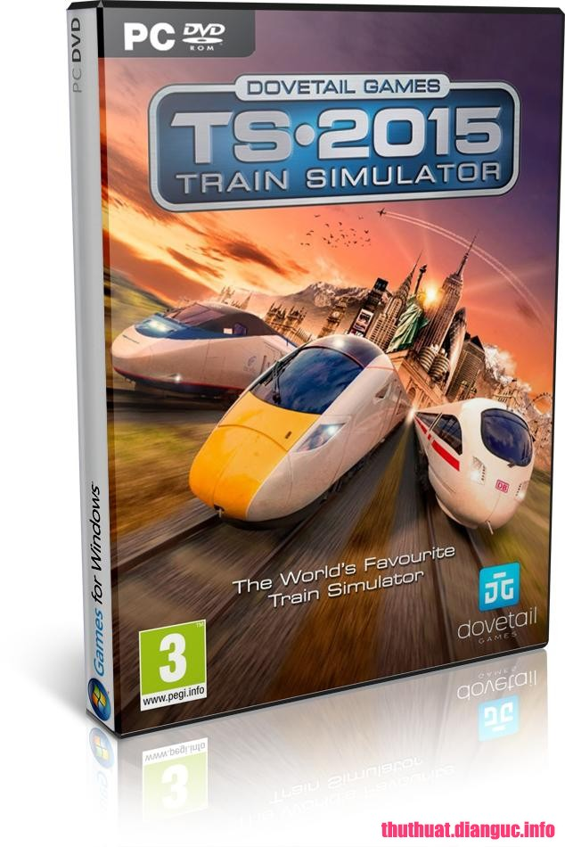 Download Game Train Simulator 2015 SKIDROW Fshare