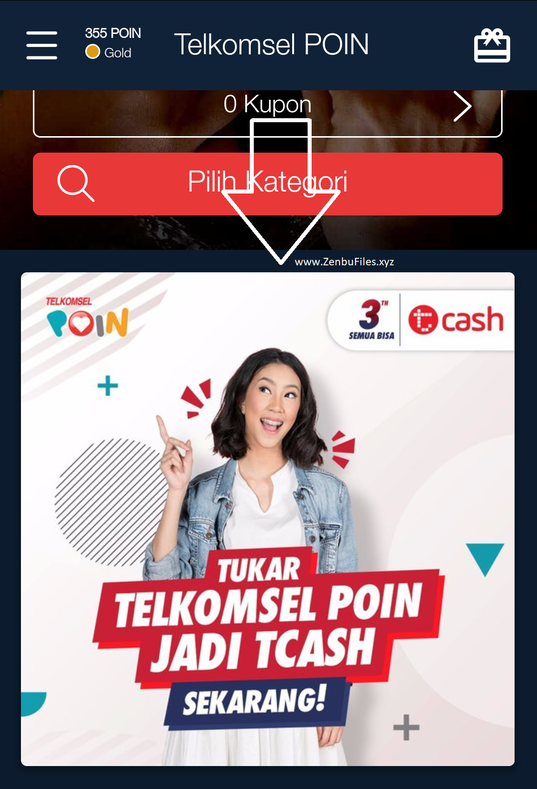 Zenbu Files: Diamond Mobile Legends Gratis dari Telkomsel Poin