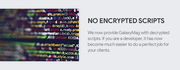 No Encrypted Scripts