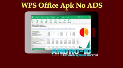 Download WPS Office Apk No Ads