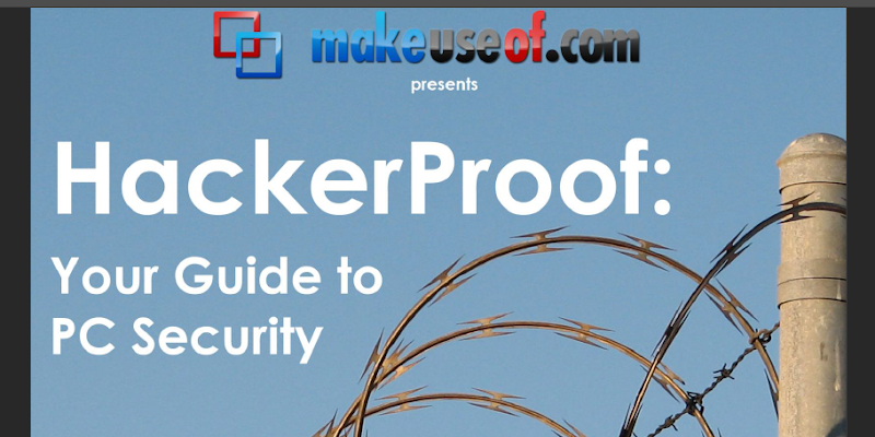 Free guide: hackerproof your guide to pc security.