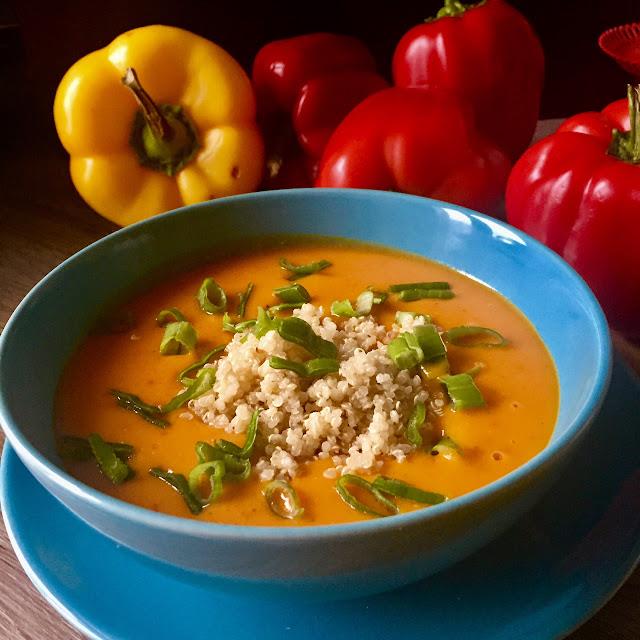 🌶 Piekielna zupa z dyni z komosą ryżową