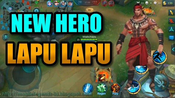 Hero Baru Mobile Legends Lapu Lapu