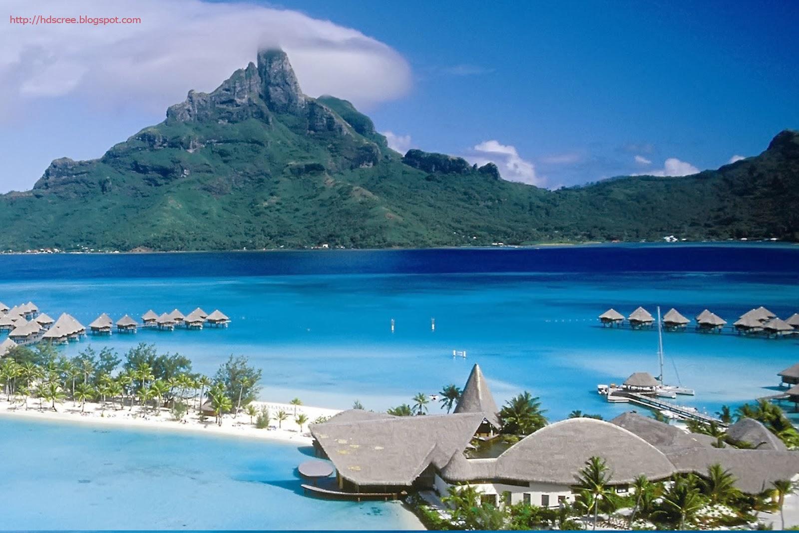 Bora Bora Bungalows 4k Hd Desktop Wallpaper For Wide: Bora Bora Hd Wallpaper
