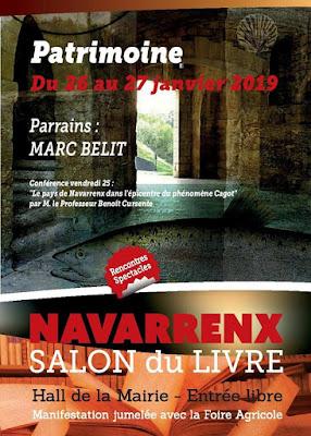 Salon du Livre Navarrenx 2019