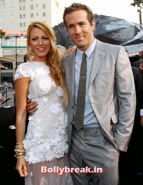 Blake Lively and Ryan Reynolds, The most stylish couples of 2013