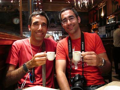 Coffee in A Brasileira Cafe in Lisboa
