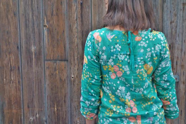 Nani Iro en garden double guaze Ki - blouse