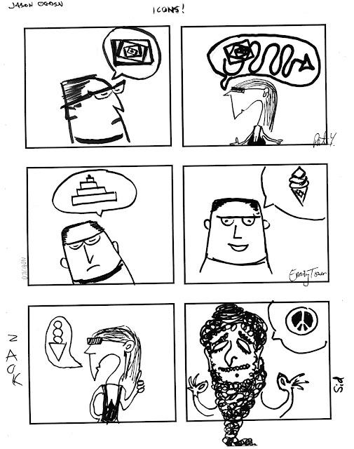 T. Motley, cartooniologist: Cartooning Basics Comic Jams