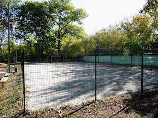 Межова. Спортивний майданчик в парку ім. Чкалова