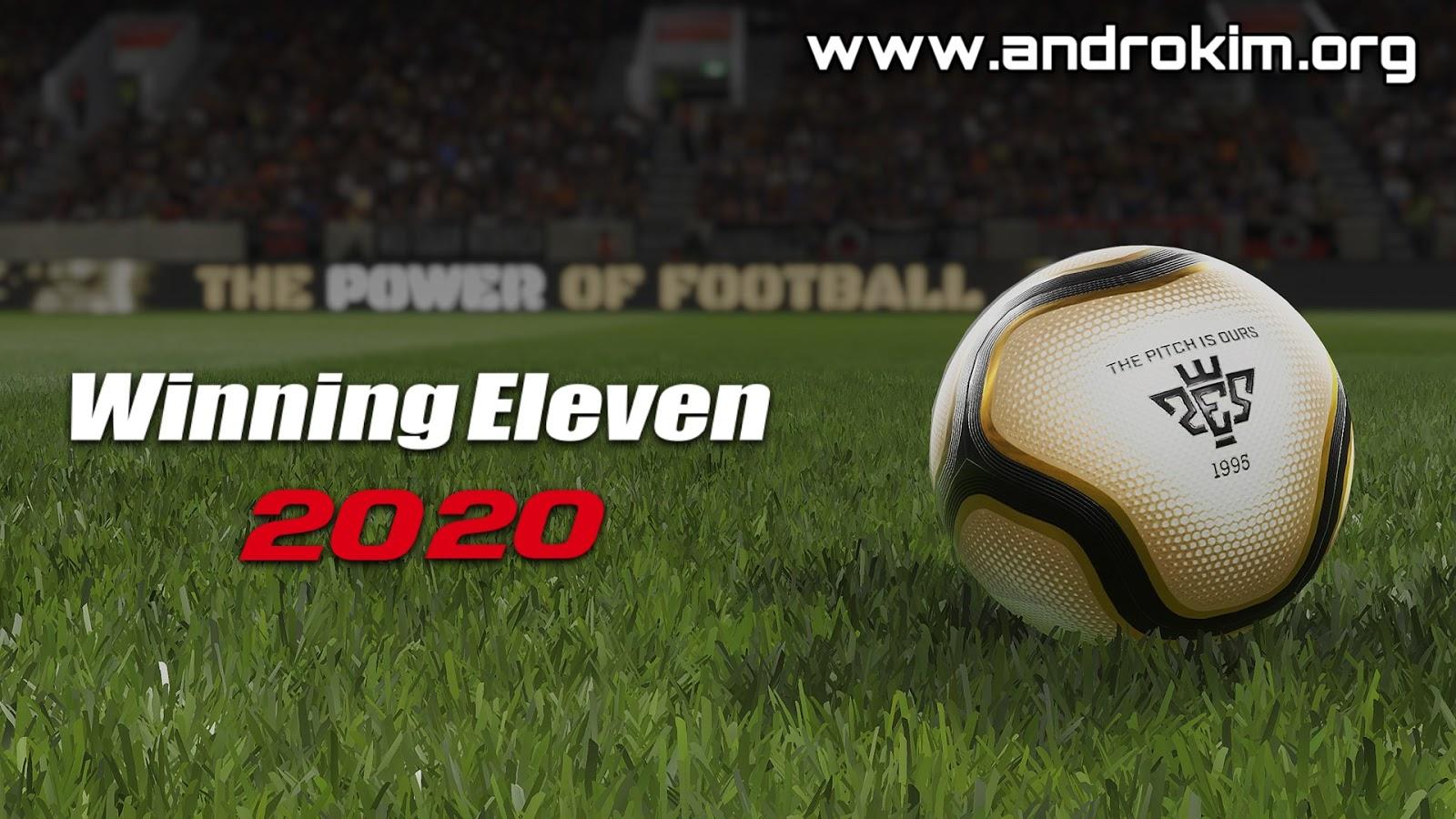 تحميل لعبة Winning Eleven 2020 للاندرويد Download WE 2020