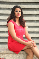 Shravya Reddy in Short Tight Red Dress Spicy Pics ~  Exclusive Pics 060.JPG