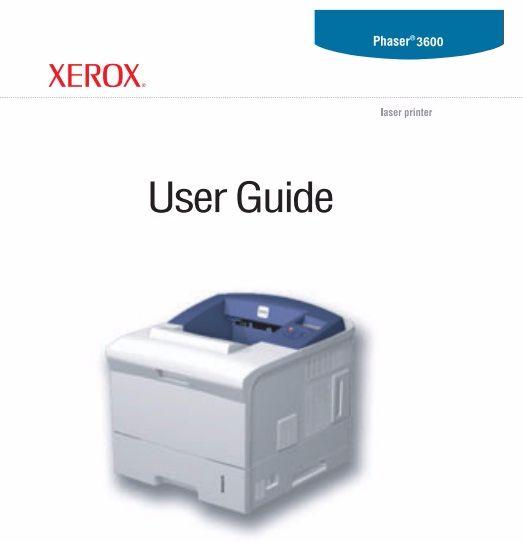xerox phaser 3600 manual printer and service manual rh printer1 blogspot com Phaser 3600 Paper Jam xerox phaser 3500 service manual