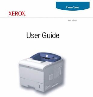 XEROX PHASER 3600 USER MANUAL