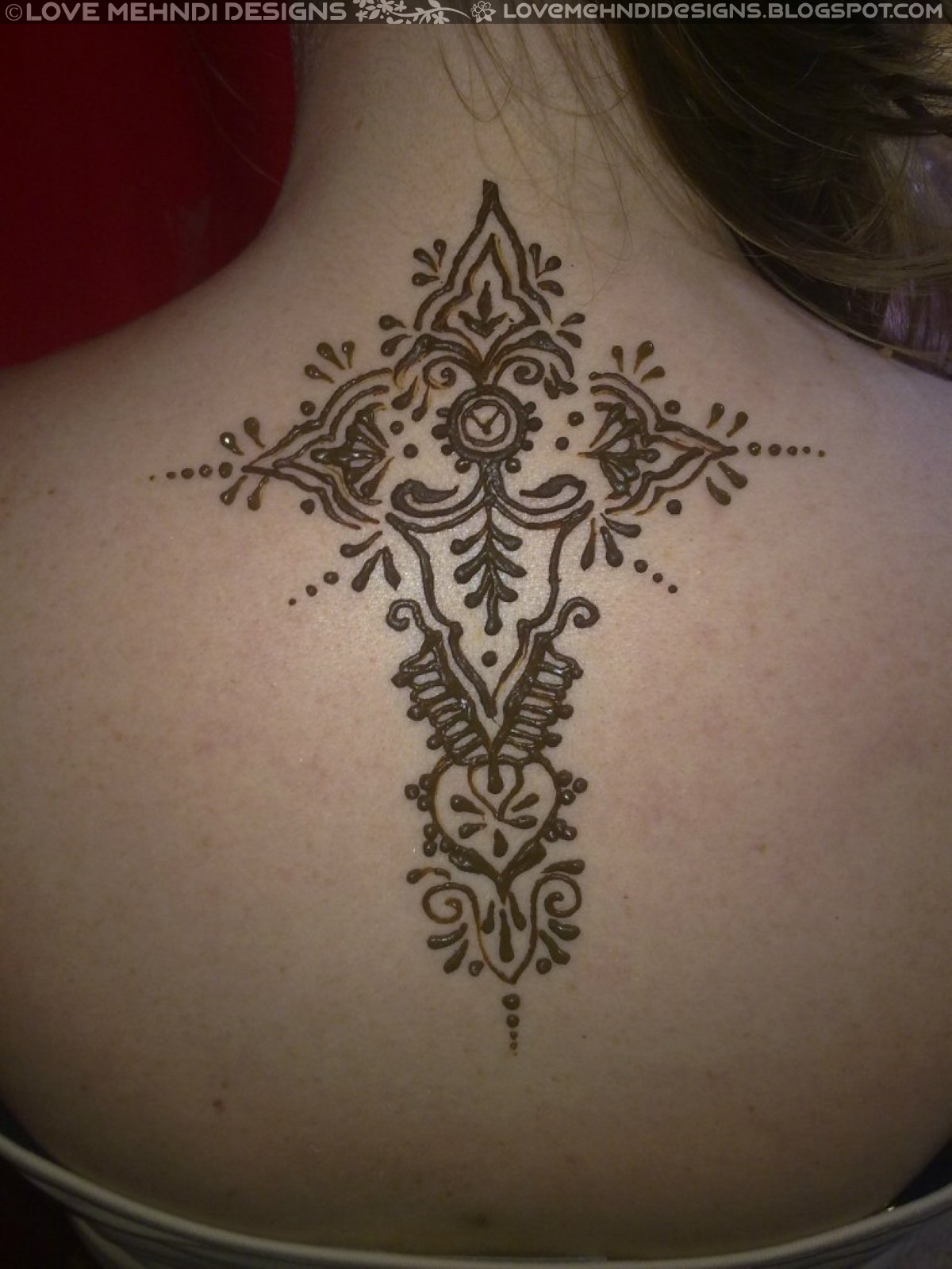 ac798554f6cc9 Henna Tattoo Designs for Back and Neck - Love Mehndi Designs