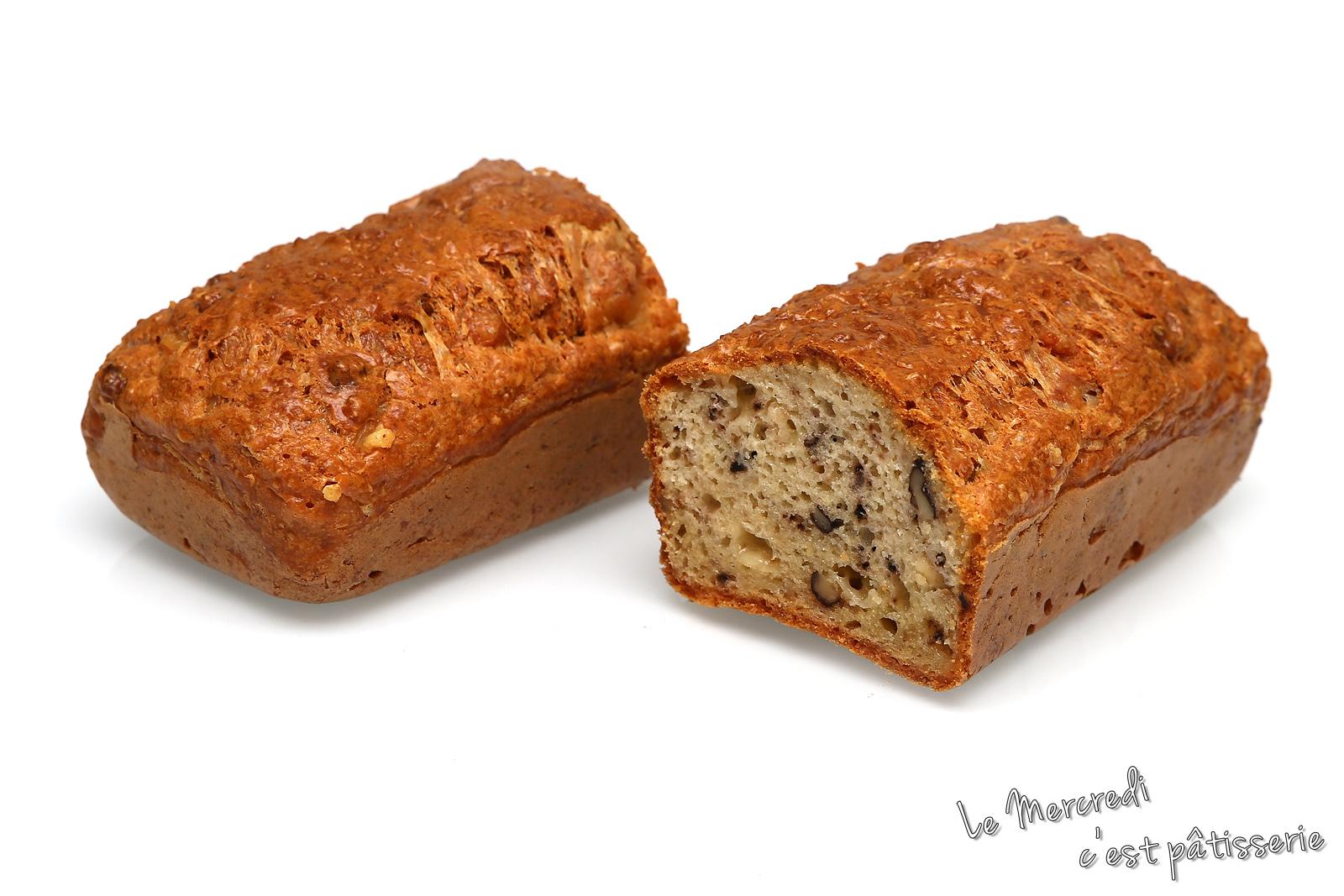 Cake Carottes Lardons Noix