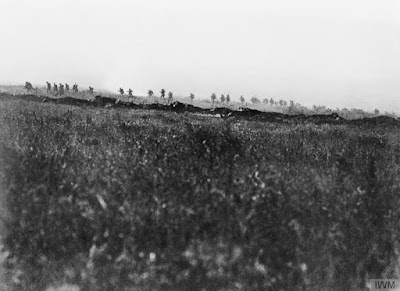 Tyneside Irish Brigade on the Somme © IWM (Q 53)