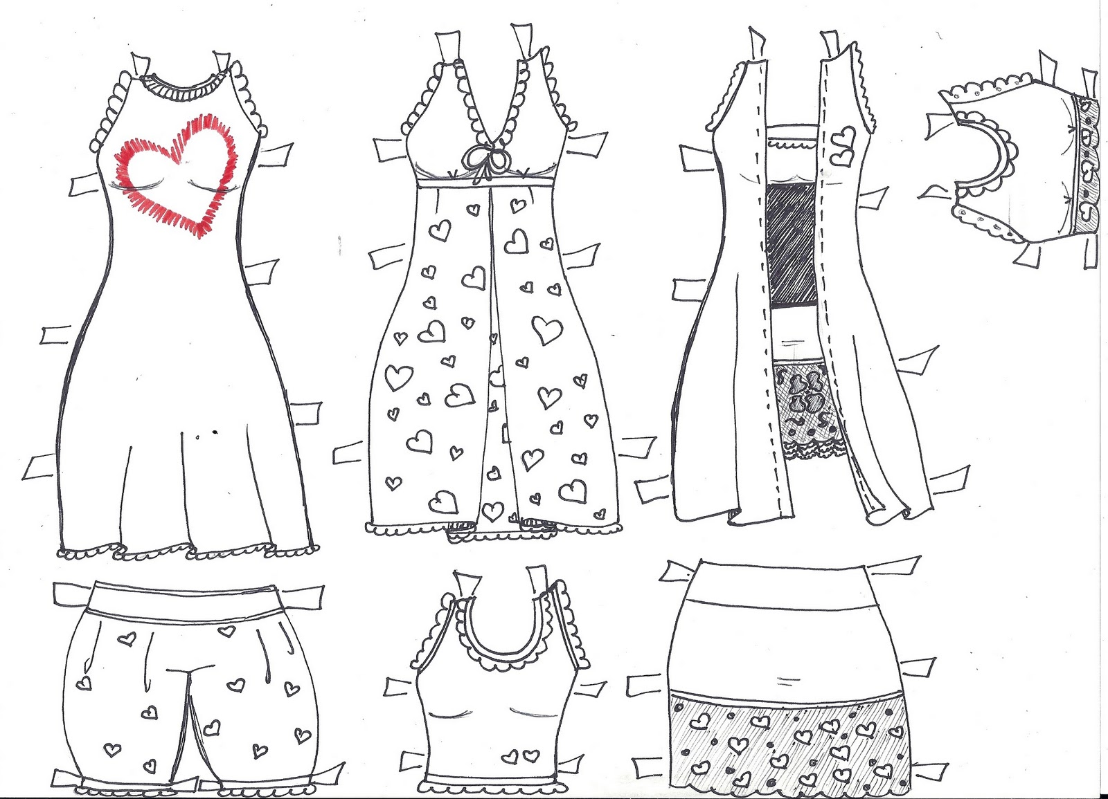 Paper Doll Eve A Girl Dreams Bella The Paper Doll