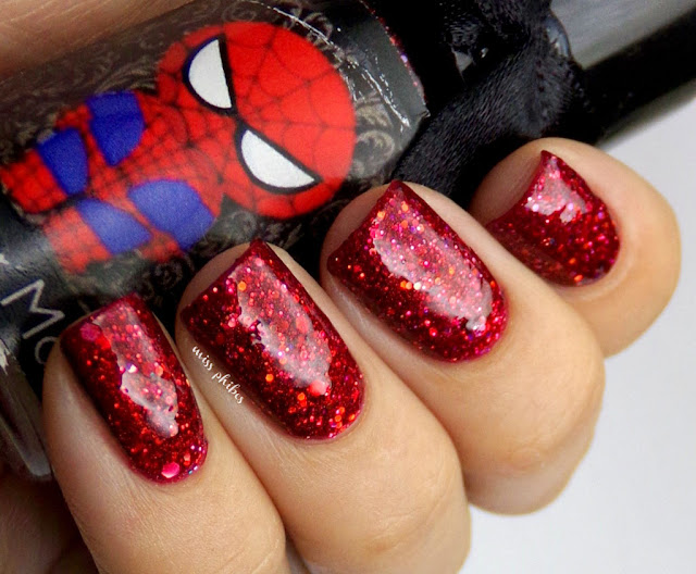 Esmaltes da Kelly Spider Man