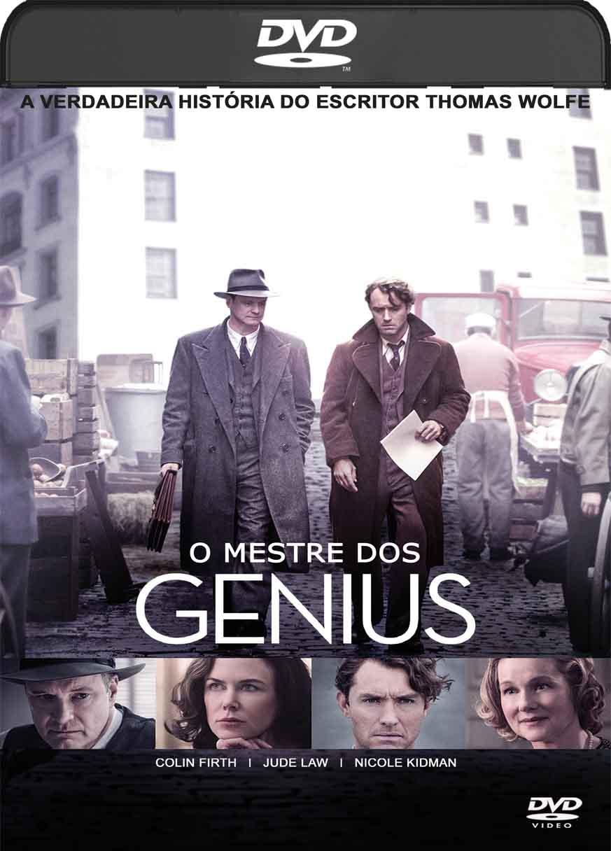 O Mestre dos Gênius (2016) DVD-R Autorado