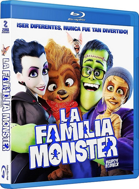 Happy Family (La Familia Monster) (2017) 720p y 1080p BDRip mkv Dual Audio AC3 5.1 ch