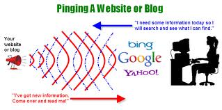 pingando seu site ou blog
