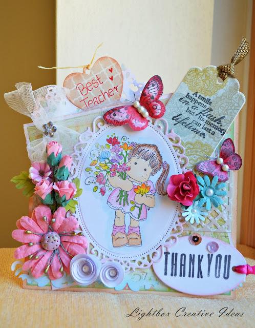 lightbox creative ideas thank you card for teacher