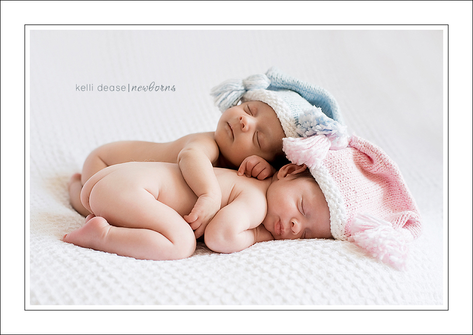 Best newborn twin photography