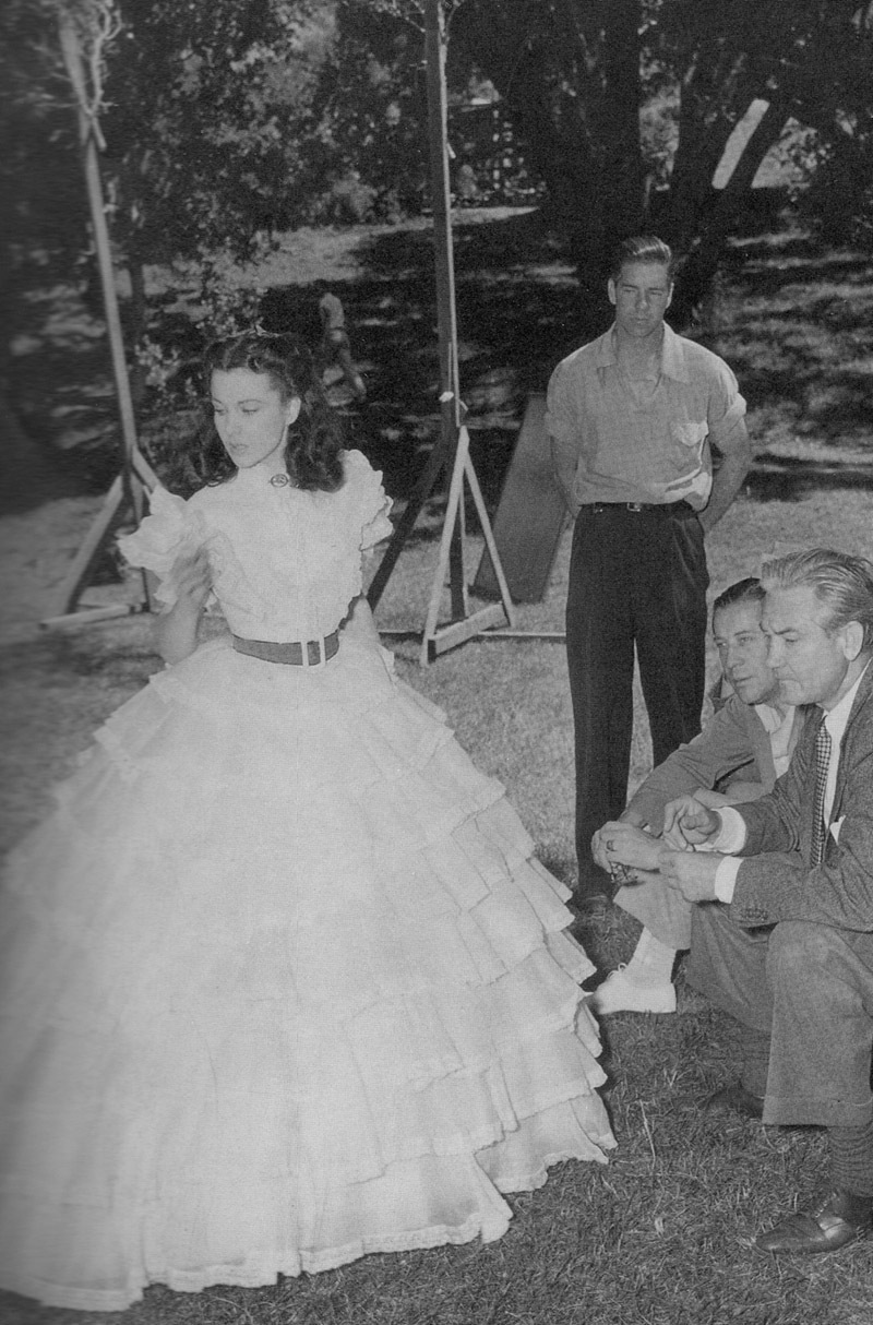 Behind The Scenes Photos Of Quot Gone With The Wind Quot Vintage