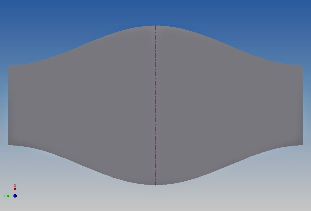 Example Round Duct Sheet Metal By Autodesk Inventor 2015