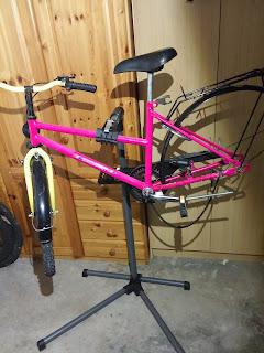 Fahrradwartung einfach und rückenschonend erledigt