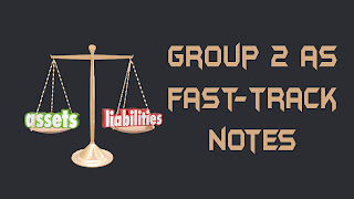 ADVANCE ACCOUNTS AS FAST-TRACK NOTES