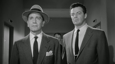 Richard Conte, Cornel Wilde, The Big Combo (1955)